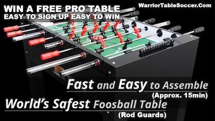 Runaway Bay Texas Warrior soccer tournament Nov 21st WIN-A-TABLE