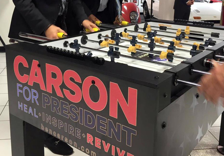 Warrior Table Soccer Hot New Party Rental