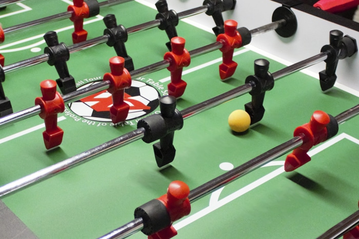 Professional Foosball Tables By Warrior Table Soccer