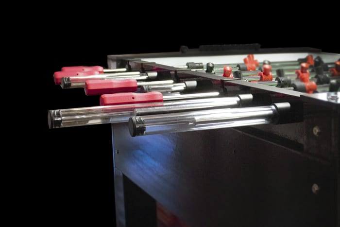 Custom Foosball Table Rod Guards
