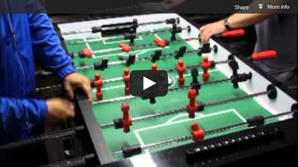 Warrior Foosball Table Pre Order - How much does a foosball table cost