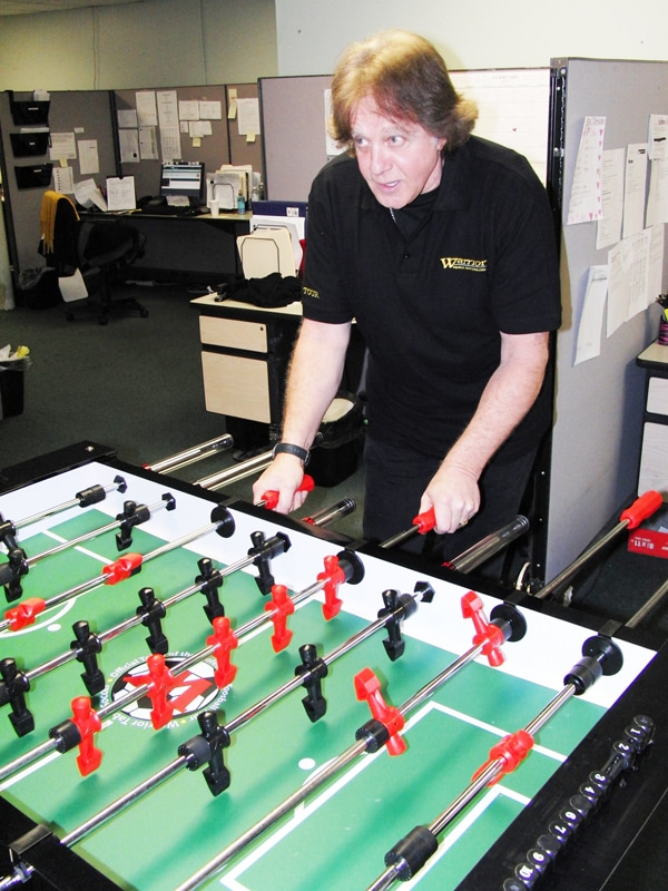 foosball table assembly instructions