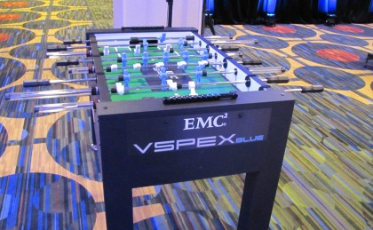 EMC2 Custom Foosball Table