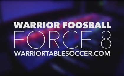 Warrior Foosball FORCE 8 Party Table