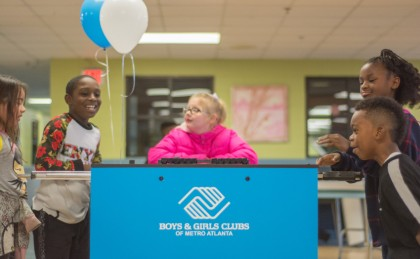 Boys & Girls Club Custom Foosball Table