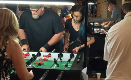 Warrior Table Soccer