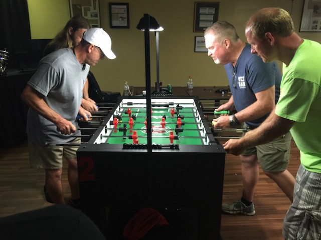 Warrior Foosball Table