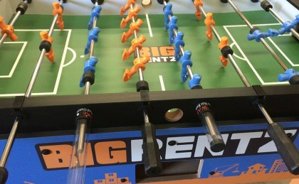Big Rentz Custom Foosball Table
