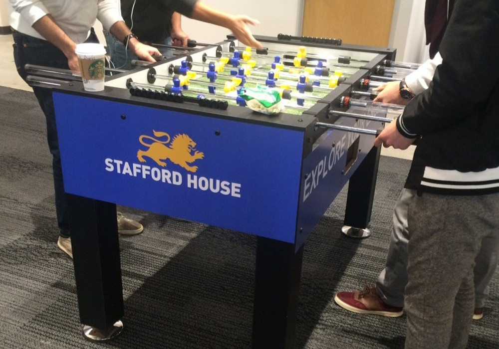 Stafford House Custom Foosball Table
