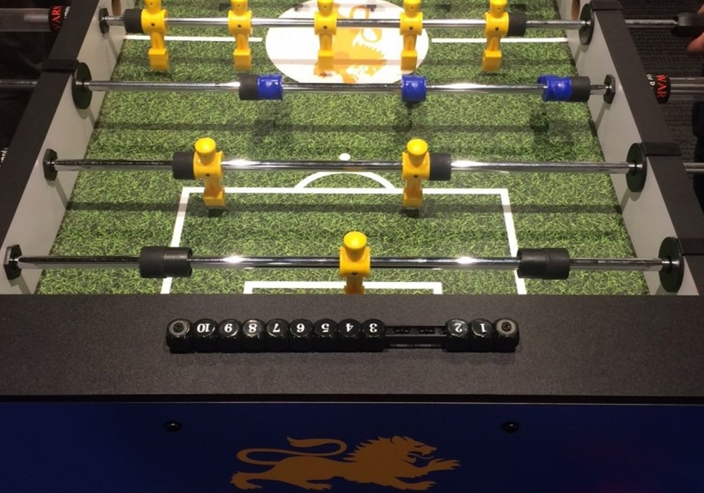 Stafford House Custom Foosball Table top surface view