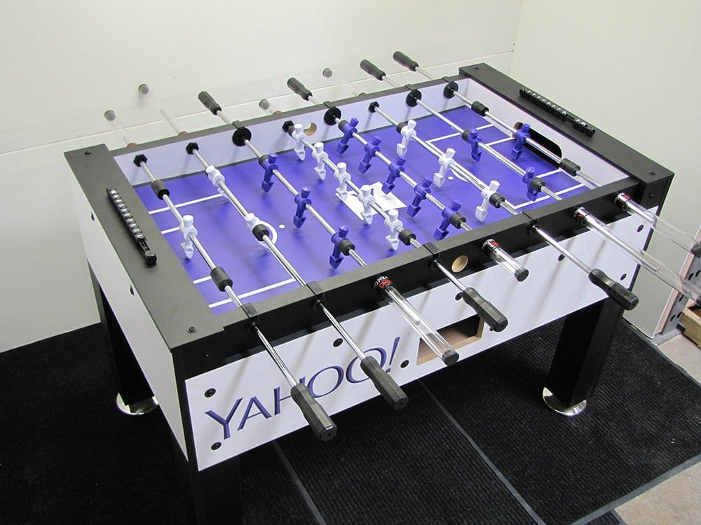 Yahoo Custom Foosball Table