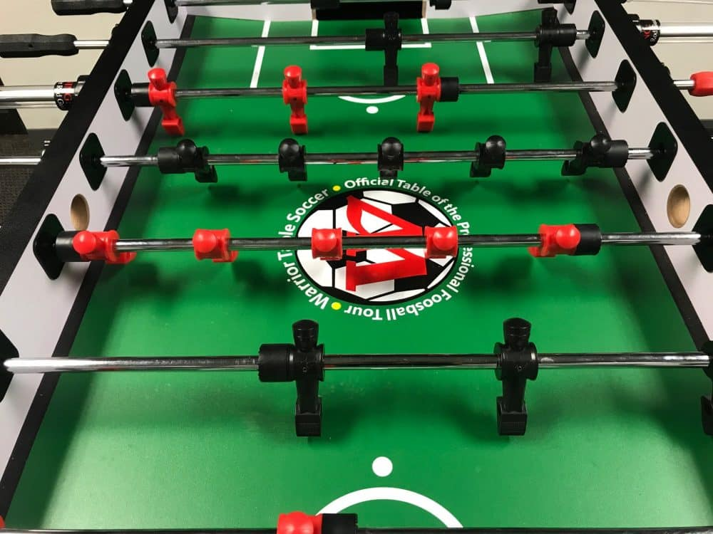 Warrior Table Soccer Foosball Table