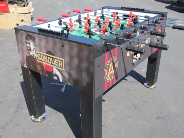 Atlanta United FC Custom Foosball Table By Warrior Table Soccer - Custom foosball table
