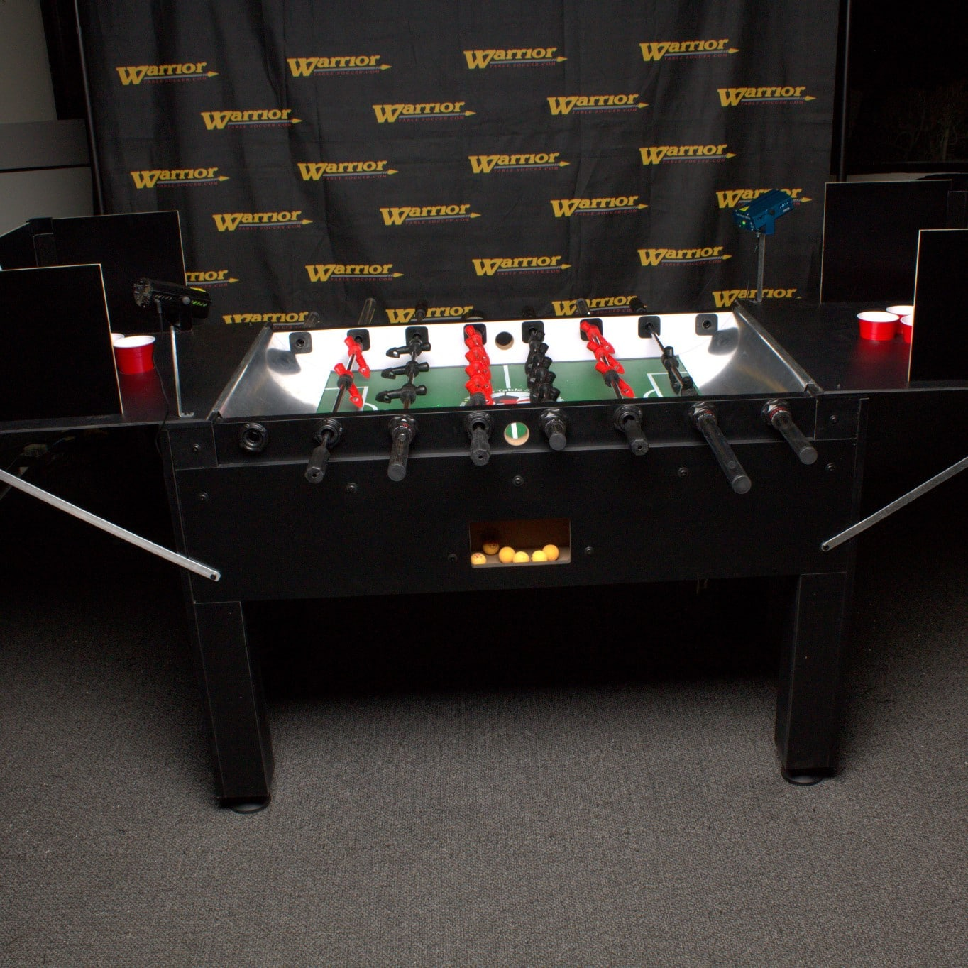 Warrior Foosball Beer Pong Table