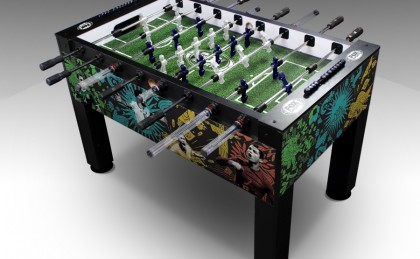 Fox Sports 2018 World Cup Custom Foosball Table by Warrior Table Soccer
