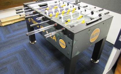 Los Angeles Galaxy Custom Foosball Table