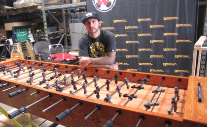 The Pin Deck Custom Foosball Table