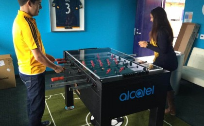 Alcatel Custom Foosball Table