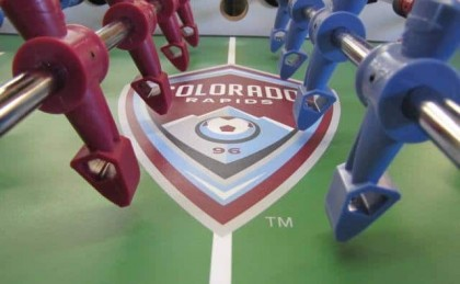 Colorado Rapids Custom Foosball Table