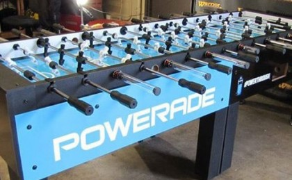 Powerade custom Foosball Table