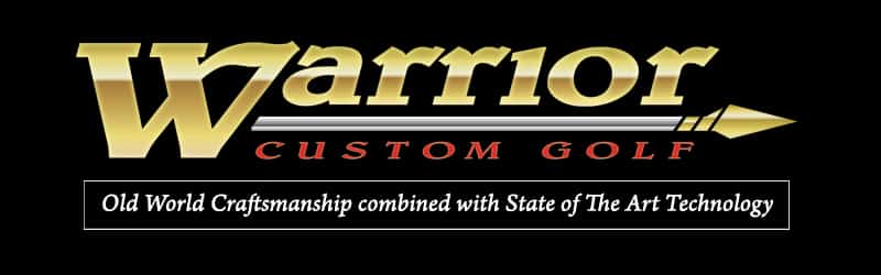 Warrior Custom Golf Banner