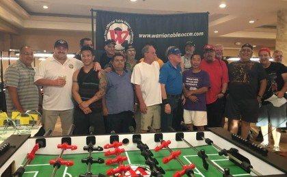 2018 Warrior Foosball West Coast Regional CA Hall of Fame