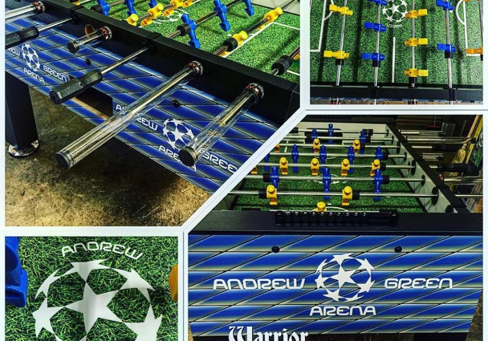 Atlanta United FC Custom Foosball Table different views