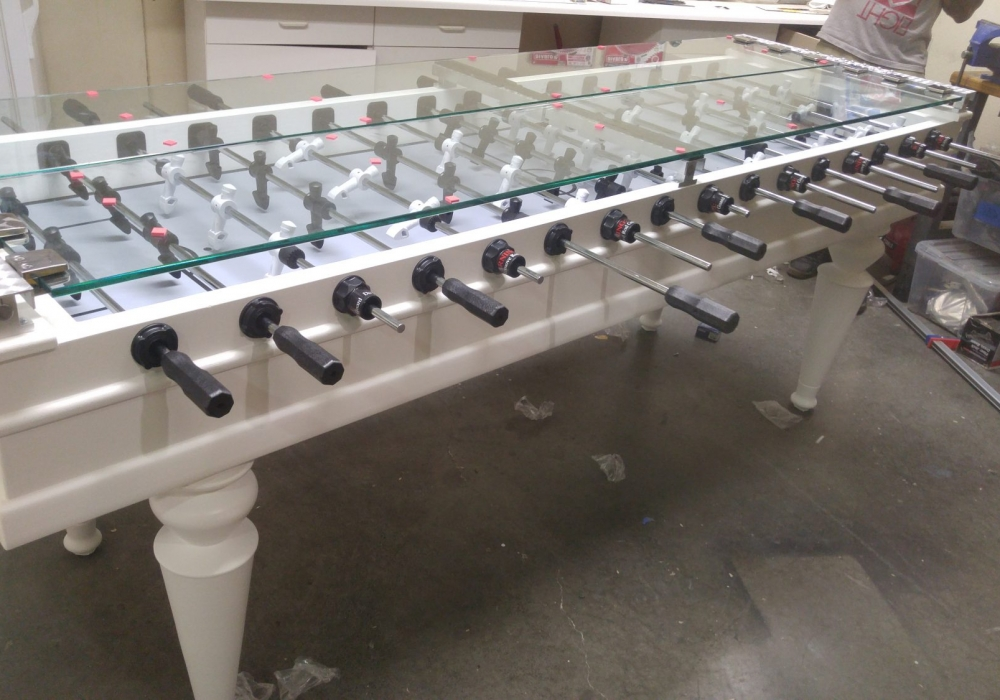 Continium Custom Foosball Table Side View