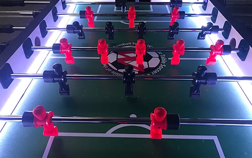 Select Warrior Foosball LED Table