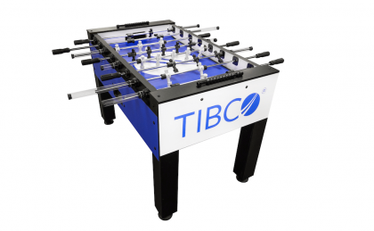 Tibco Company Logo custom foosball table
